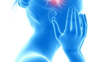 picture of woman with headache